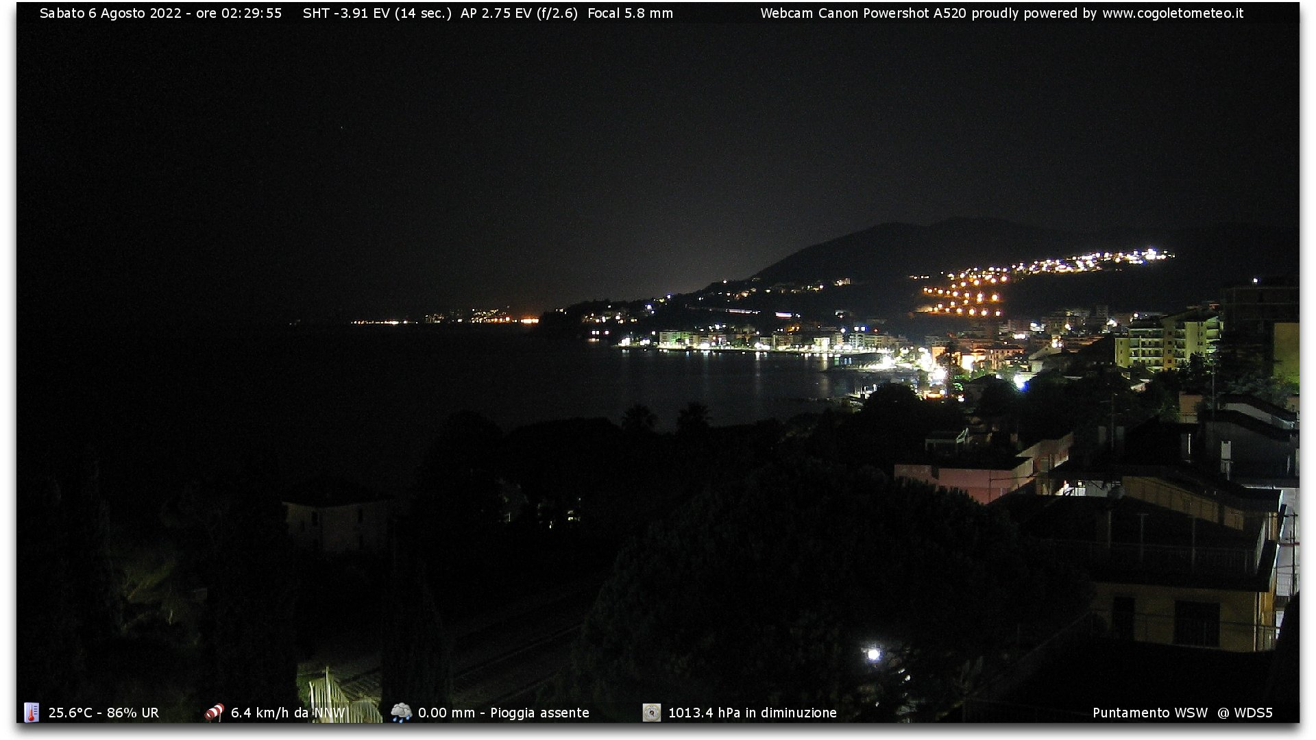 Webcam a Cogoleto (GE)